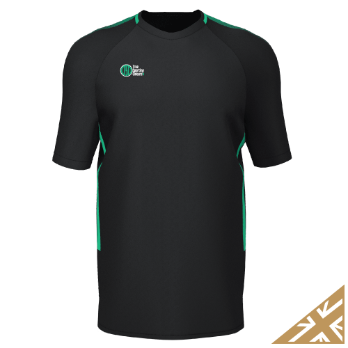 DNA PRO TRAINING TEE - Black/Emerald