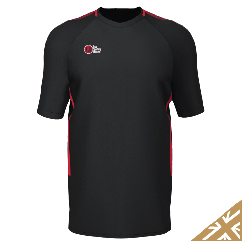 DNA PRO TRAINING TEE - Black/Red