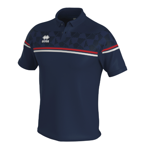 DOMINIC POLO - Navy/Red/White