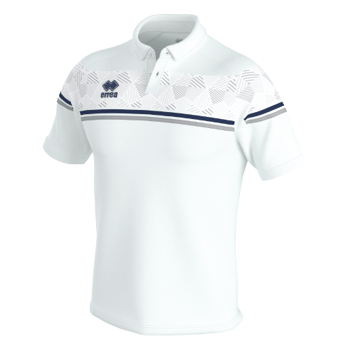 DOMINIC POLO - White/Navy/Grey