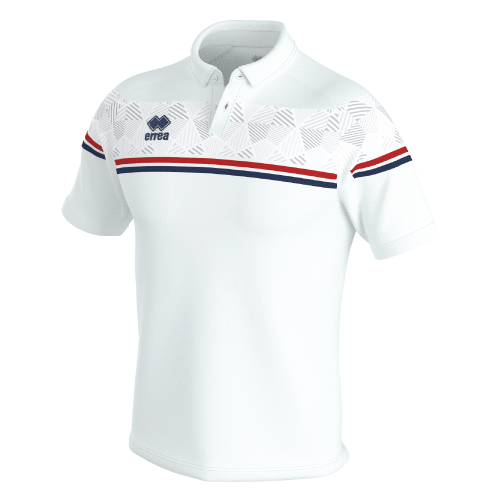 DOMINIC POLO - White/Red/Navy