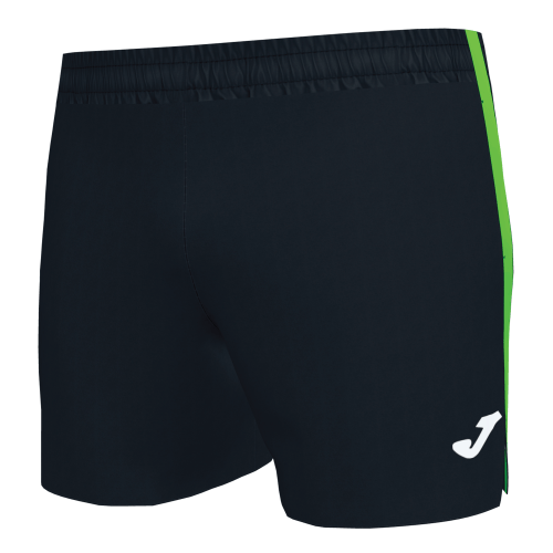 ELITE VII LINE MICRO SHORT - Black /Fluor Green