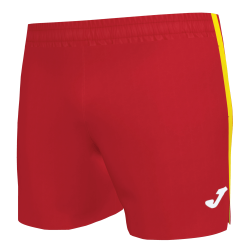 ELITE VII LINE MICRO SHORT - Red/Yellow