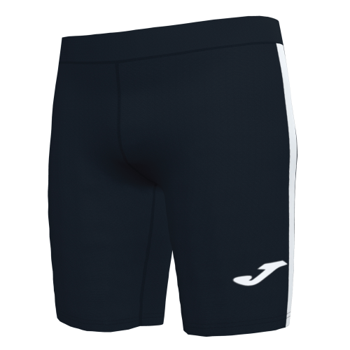ELITE VII LINE SHORT TIGHT - Black/White
