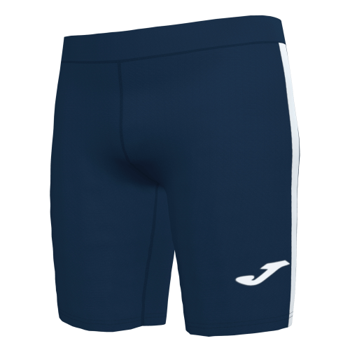 ELITE VII LINE SHORT TIGHT - Dark Navy/White