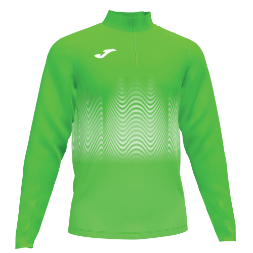ELITE VII LINE SWEATSHIRT - Green Fluor/White/Dark Navy