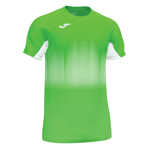 ELITE VII LINE T-SHIRT - Green Fluor/White/Dark Navy