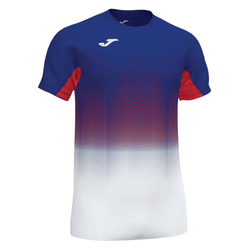 ELITE VII LINE T-SHIRT - Royal Sampdoria/Red/White/Dark Navy