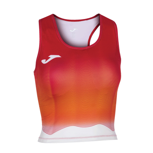 ELITE VII LINE TANK TOP - Red/Yellow/White