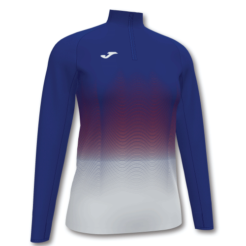 ELITE VII LINE (W) SWEATSHIRT - Dark Royal/Red/White