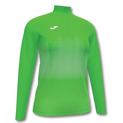 ELITE VII LINE (W) SWEATSHIRT - Green Fluor/White