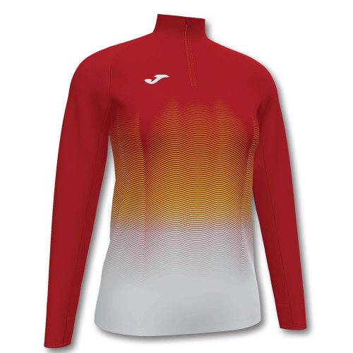 ELITE VII LINE (W) SWEATSHIRT - Red/Yellow/White