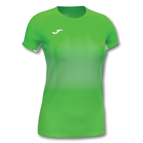ELITE VII LINE (W) T-SHIRT - Green Fluor/White