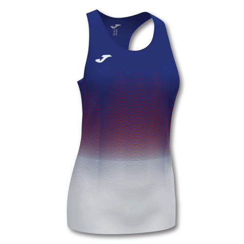 ELITE VII LINE (W) VEST - Dark Royal/Red/White