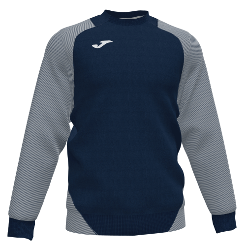 ESSENTIAL II SWEATSHIRT - Dark Navy/White