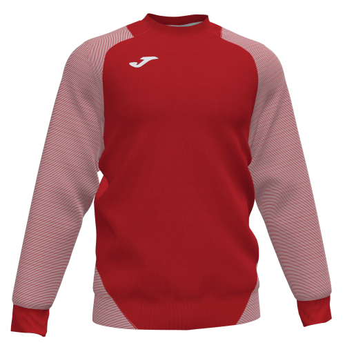 ESSENTIAL II SWEATSHIRT - Red/White