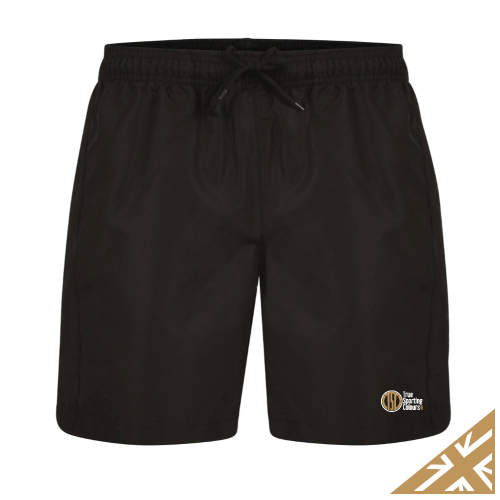 HELIX POCKETED SHORT - Black