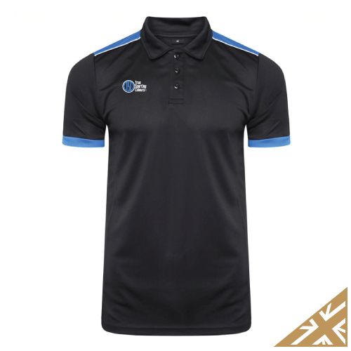 HELIX POLO SHIRT - Black/Royal