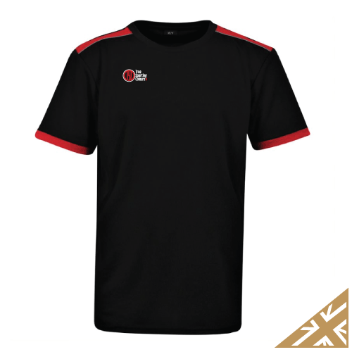 HELIX TRAINING SHIRT - Black/Red