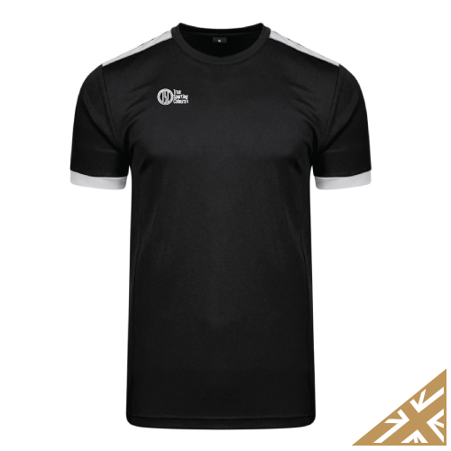 HELIX TRAINING SHIRT - Black/Silver