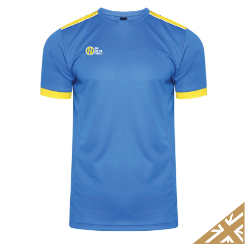 HELIX TRAINING SHIRT - Royal/Yellow