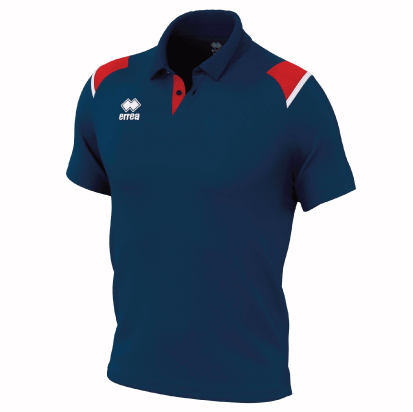 LEONOR POLO - Navy/Red/White