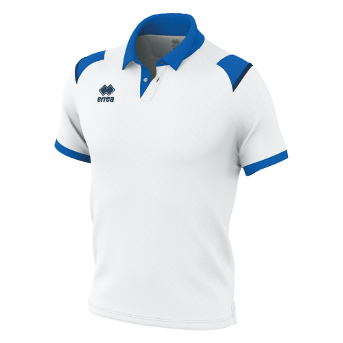 LUIS POLO - White/Blue/Navy