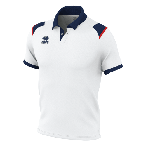 LUIS POLO - White/Navy/Red
