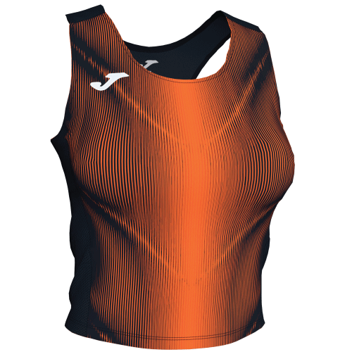 OLIMPIA TANK TOP - Black/Orange