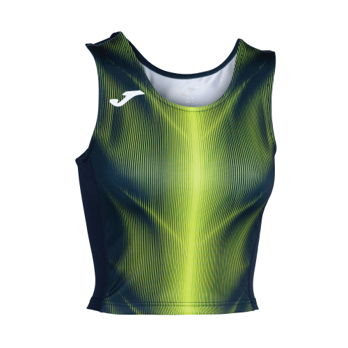 OLIMPIA TANK TOP - Dark Navy/Fluor Yellow