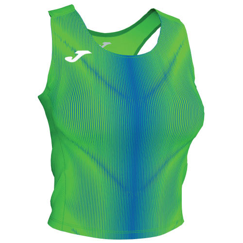 OLIMPIA TANK TOP - Green Fluor/Royal
