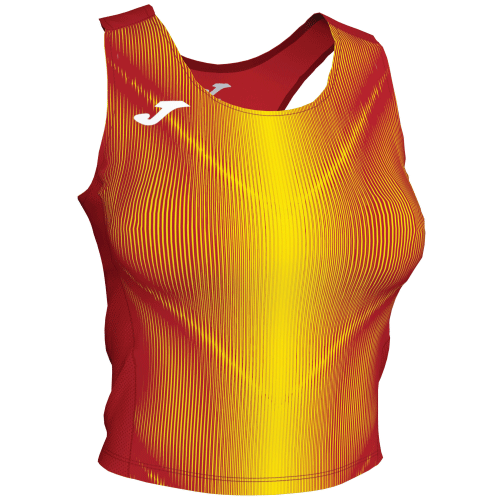 OLIMPIA TANK TOP - Red/Yellow