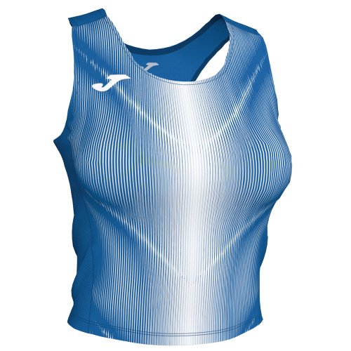 OLIMPIA TANK TOP - Royal/White
