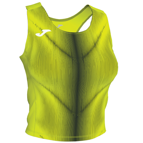 OLIMPIA TANK TOP - Yellow Fluor/Black