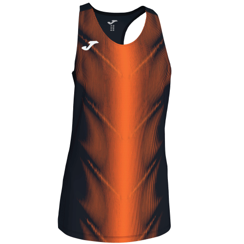 OLIMPIA (W) SLEEVELESS - Black/Orange