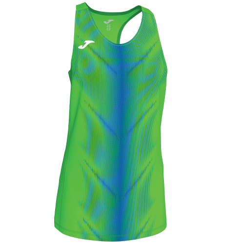 OLIMPIA (W) SLEEVELESS - Green Fluor/Royal