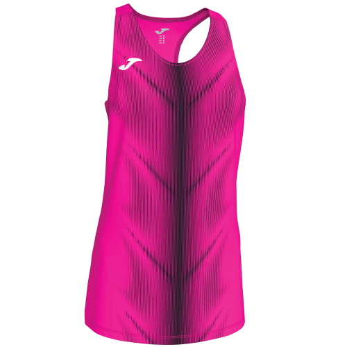 OLIMPIA (W) SLEEVELESS - Pink Fluor/Black