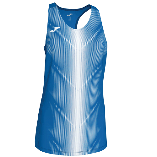 OLIMPIA (W) SLEEVELESS - Royal/White