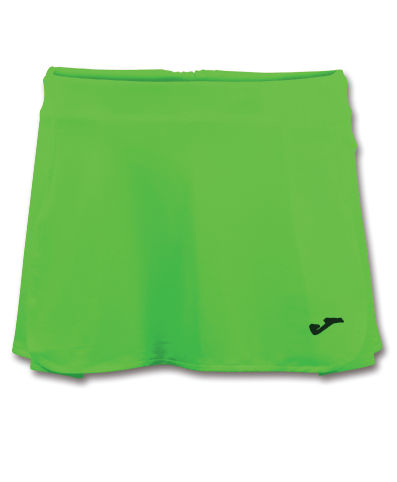 OPEN II SKORT - Green Fluor