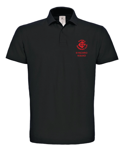 Polo Shirt Black - RS Officials
