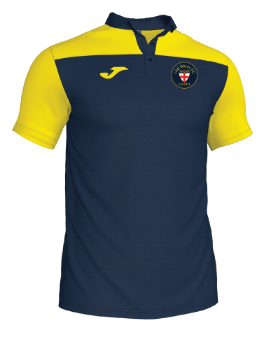 Polo Shirt - Navy/Yellow - OBFC
