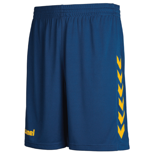 POLY  SHORT -  True Blue/Yellow