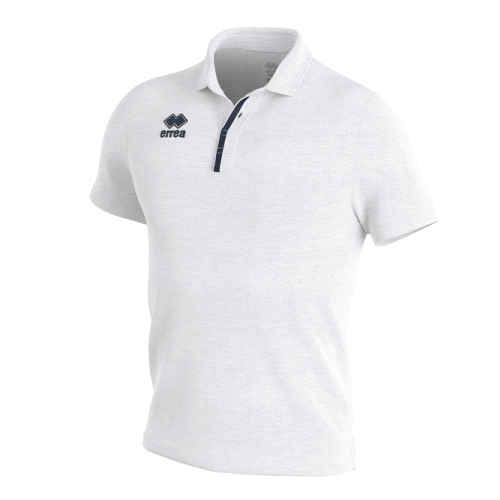 PRAGA 3.0 POLO - White/Navy