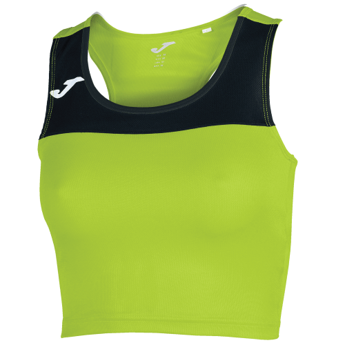 RACE TANK TOP - Green Fluor/Black