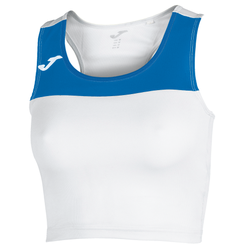 RACE TANK TOP - White/Royal