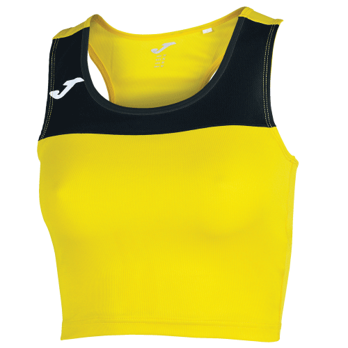 RACE TANK TOP - Yellow/Black