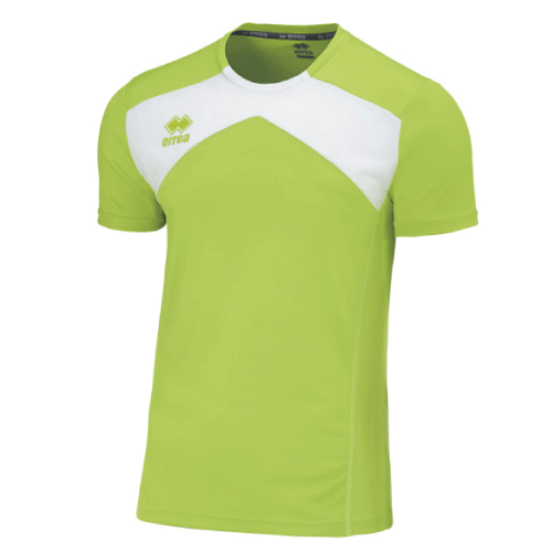 SETH T-SHIRT - Green Fluo/White