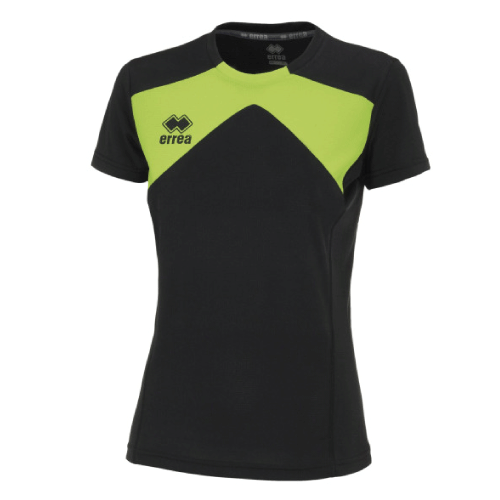 SETH T-SHIRT (W) - Black/Green Fluo