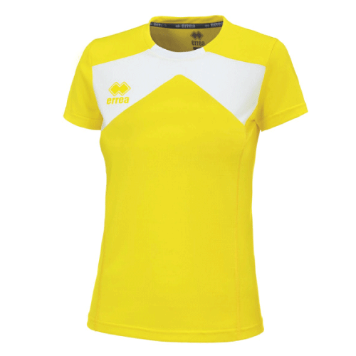 SETH T-SHIRT (W) - Yellow Fluo/White
