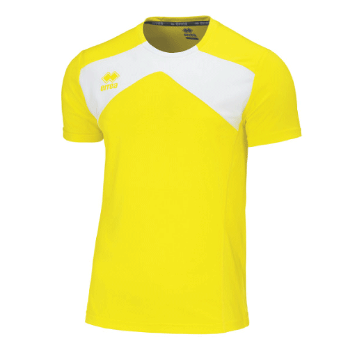 SETH T-SHIRT - Yellow Fluo/White